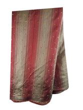 Load image into Gallery viewer, running fabrics online india fabric online india Embroidered Polyester Red, Gold 46 inches Wide 1677