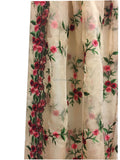 buy blouse material online buy dress fabric online india Embroidery Organza / Tissue Peach, Green, Pink, Red, Maroon 39 inches Wide 9172