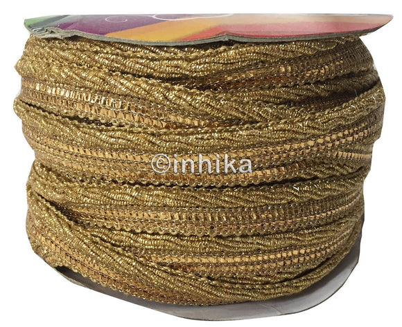 Gold n Sequins decorative edging trim for sewing