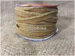 lace trim fabric decorative fabric trim ribbon for clothing Gold-Zari-1-Inch-Wide-3220