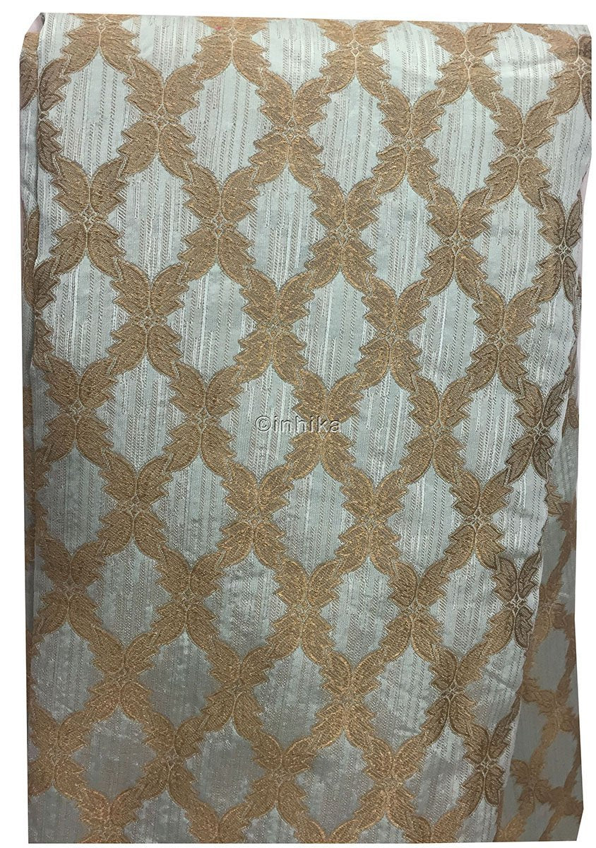 theatrical fabric Green, Blue, Maroon, Gold Brocade Synthetic Brocade Polyester/Dacron Synthetic medium weight 9154 47 inches wide