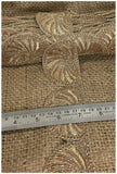 lace trim fabric garment accessories suppliers in mumbai Beige-Zari-2-Inch-Wide-3240