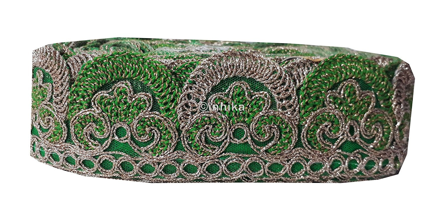 lace trim fabric designer fabric trim for garment wholesale suppliers  Green-Embroidery-2- 9c120eaa6
