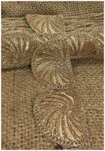 lace trim fabric garment trims and accessories wholesale suppliers Beige-Zari-2-Inch-Wide-3240