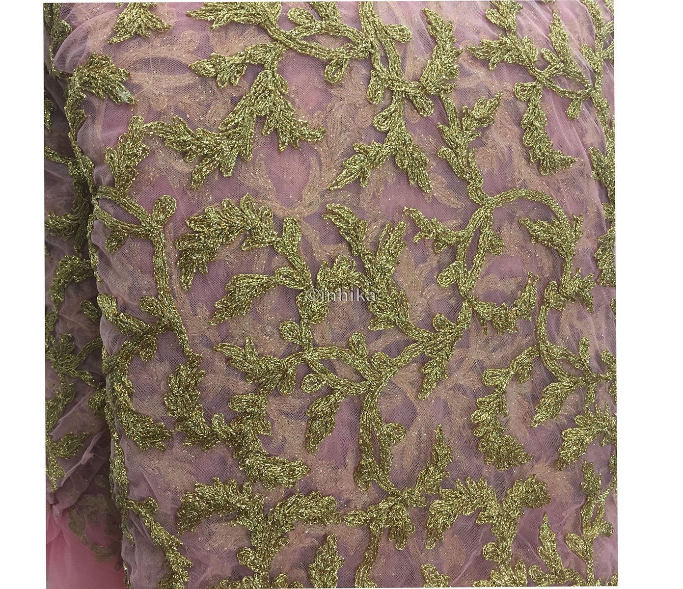 embroidery fabric online india fabric online india Embroidery Net, Mesh, Tulle Pink 44 inches Wide 9215