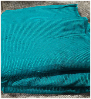 running fabrics online india buy cloth material online Embroidered Thin Polycotton Sea Green 44 inches Wide 8023