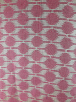 stitching material online embroidery designs for dress material Chanderi Cotton Dark Pink, Cream 43 inches Wide 1729