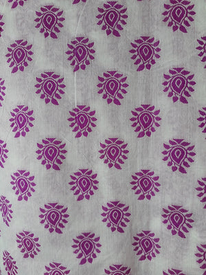 embroidery materials buy online embroidery beads online Cotton Off White, Pink 48 inches Wide 1781