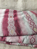 embroidery cloth online materials for embroidery Cotton Maroon, Beige, Gold 51 inches Wide 1738
