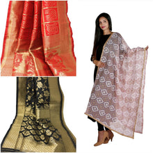 Load image into Gallery viewer, Dupatta banarasi silk