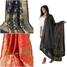 Load image into Gallery viewer, Dupatta banarasi Brocade for women
