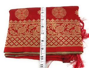 banarasi brocade stole cheap