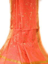 Load image into Gallery viewer, Pink Gold Dupatta Chunni