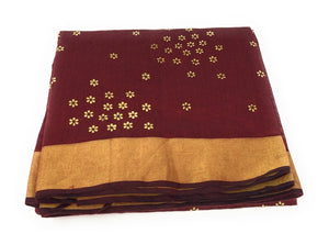 maroon-indian-dupatta-in-chanderi-fabric-n-gold-print