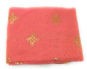 pink-stole-in-chanderi-fabric-n-gold-print
