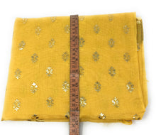 Load image into Gallery viewer, Yellow Gold Print Dupatta In Chanderi Fabric