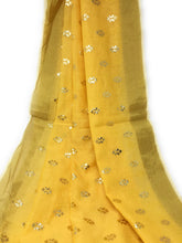 Load image into Gallery viewer, yellow Gold  DUPATTA chunni