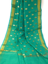 Load image into Gallery viewer, Green Gold  DUPATTA chunni