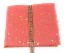 Load image into Gallery viewer, Gold Print Pink Dupatta In Chanderi Fabric