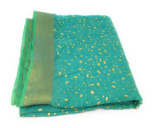 gold-print-green-dupatta-in-chanderi-fabric