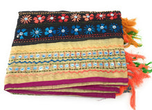 Load image into Gallery viewer, dupatta, Handwork, Embroidered, Faux Mirror Work, Kutchi Style