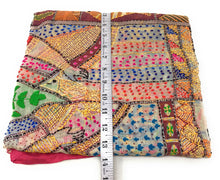 Load image into Gallery viewer, Dupatta, Kantha Embroidery Work on Madhubani Art