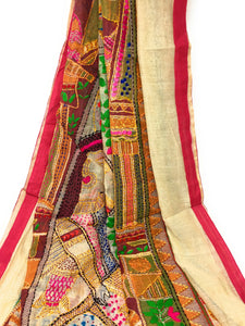 dupatta embroidery work
