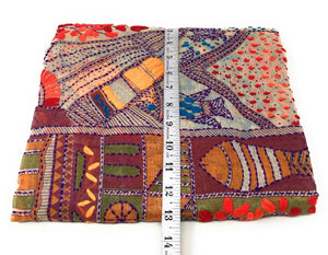 Embroidery Dupatta - Kantha Work on Madhubani Art Form