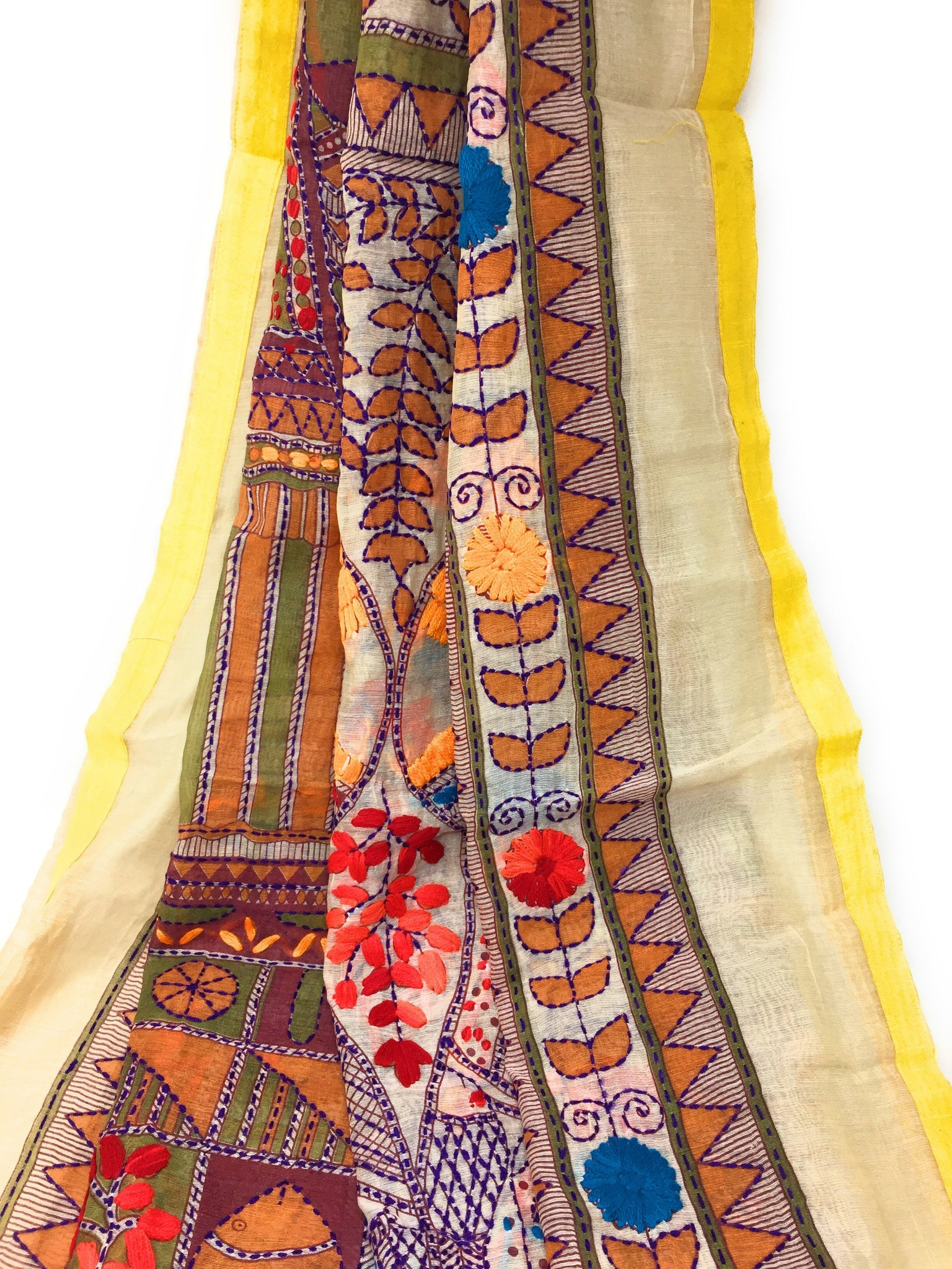 embroidery dupatta with price