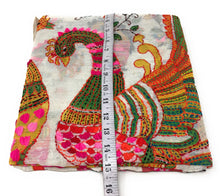 Load image into Gallery viewer, Dupatta Embroidery Work - Kantha on Madhubani Painting
