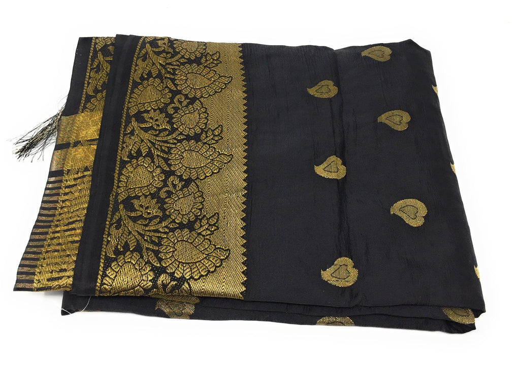 dupatta, brocade small butti