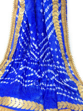 Load image into Gallery viewer, gota patti bandhani dupatta