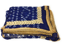 Load image into Gallery viewer, dupatta, floral embroidery