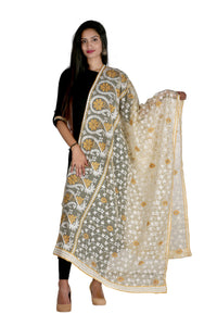 Combo Pack 3 Red Blue Yellow designer dupatta