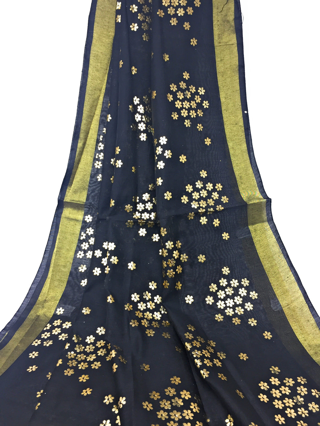 Black Gold Dupatta Chunni