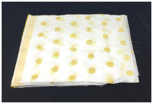 Load image into Gallery viewer, white-gold-chanderi-cotton-dupatta