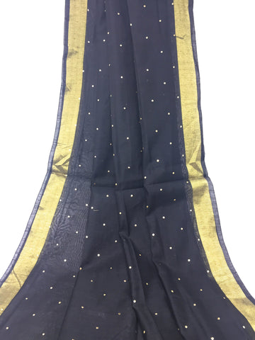 Image of Black Gold Dupatta Chunni