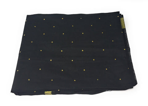 Image of black-chanderi-dupatta