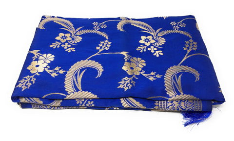 Royal Blue Banarasi Dupatta