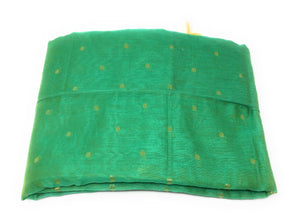 Dupatta banarasi green colour