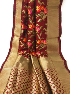 Brocade Banarasi Dupatta amazon