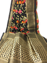 Load image into Gallery viewer, Brocade Banarasi Dupatta amazon