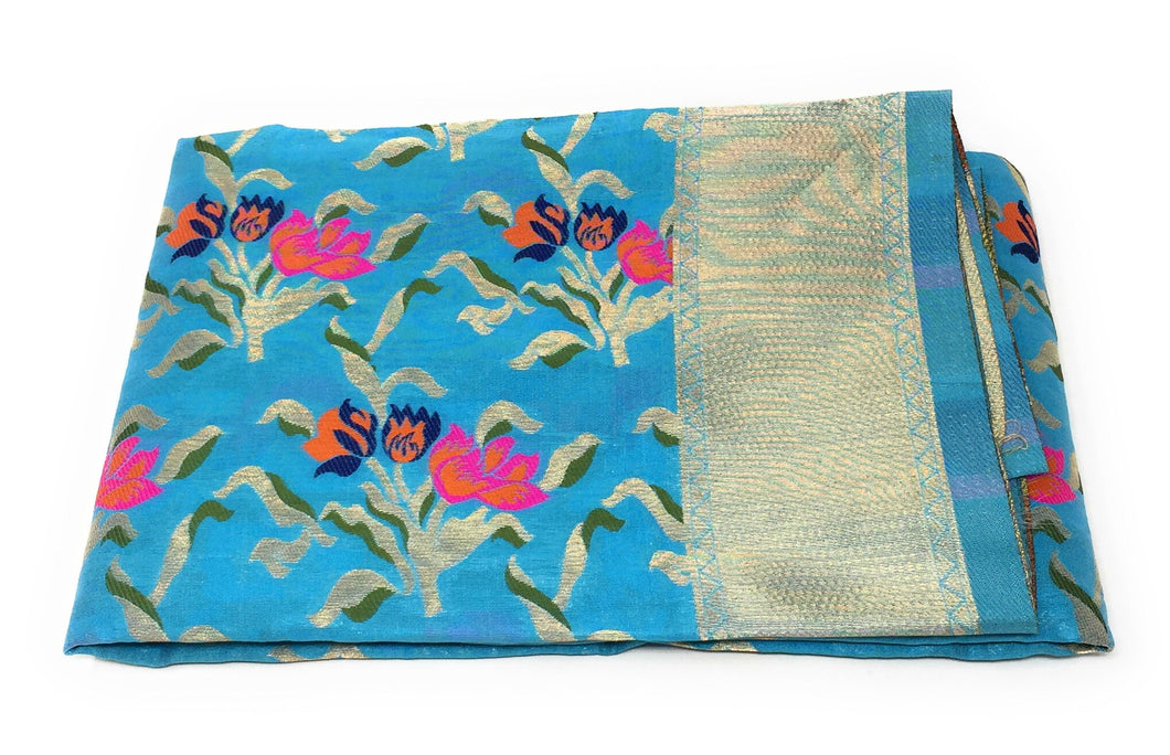Sea Blue heavy dupatta