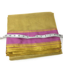 Gold colour fabric online