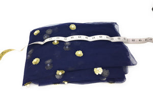Navy Blue colour material