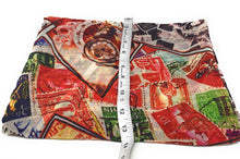 Load image into Gallery viewer, Multicolour Stamp Print Georgette Fabric