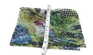 Multicolour Jungle Print Georgette Fabric