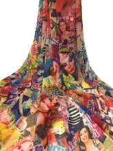 Load image into Gallery viewer, printed georgette fabric