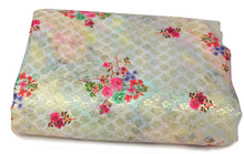 Load image into Gallery viewer, floral print silk fabric