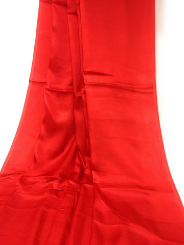 Pure Red Silk Fabric Material